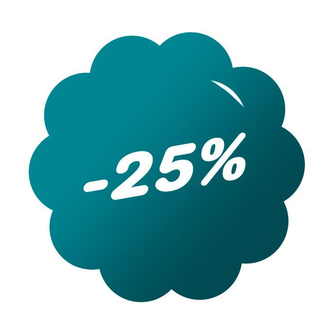 Sleva 25% na roční předplatné