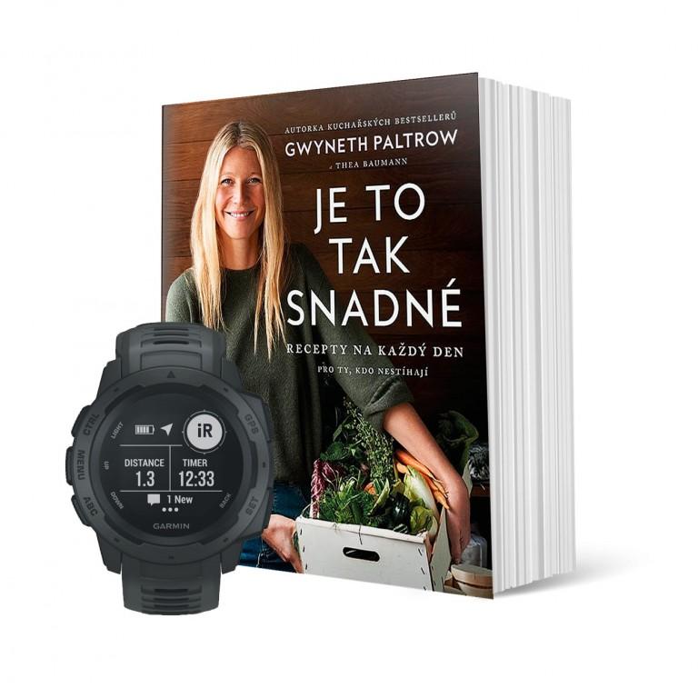 GPS hodinky Garmin Instinct a kniha v hodnotě 6 489 Kč
