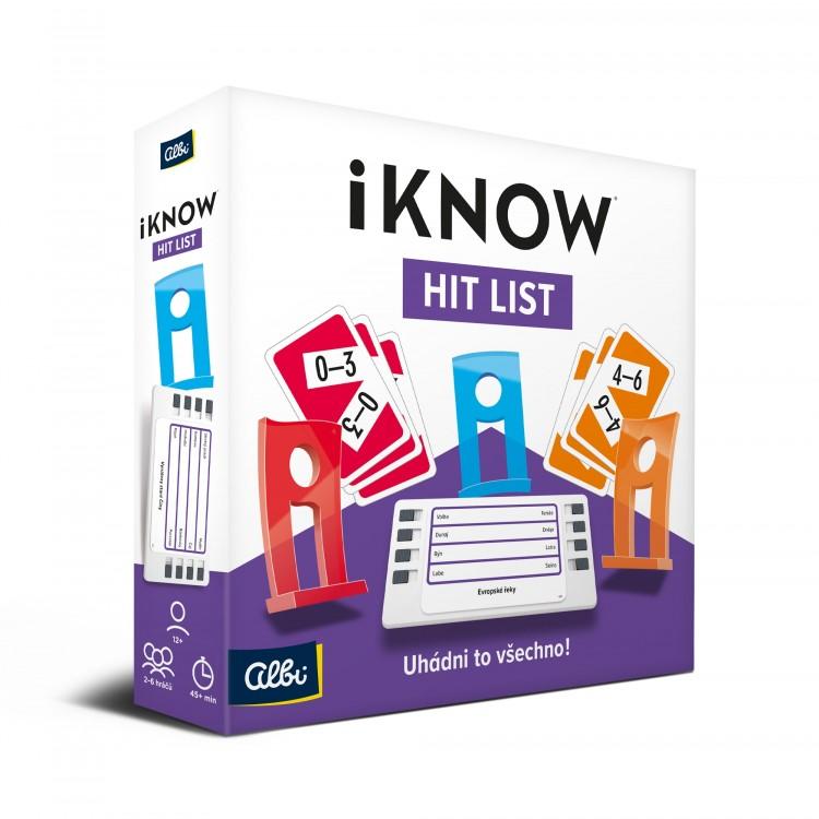 Hra iKnow Hit List v hodnotě 599 Kč