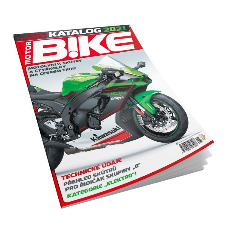 Katalog Motorbike 2021 v hodnotě 159 Kč