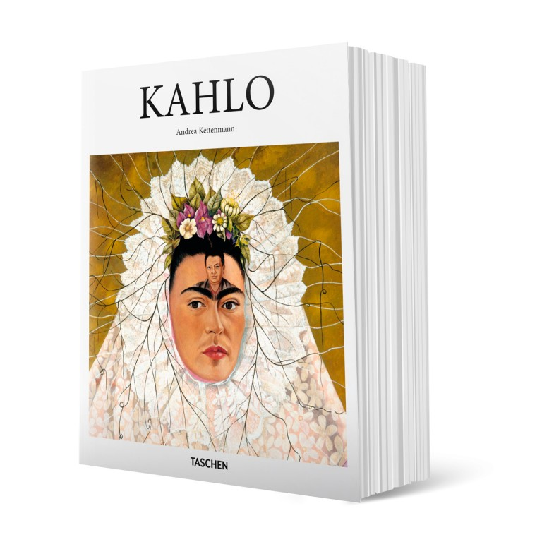 kniha Frida Kahlo1907 - 1954 (Utrpení a vášeň) v hodnotě 299 Kč