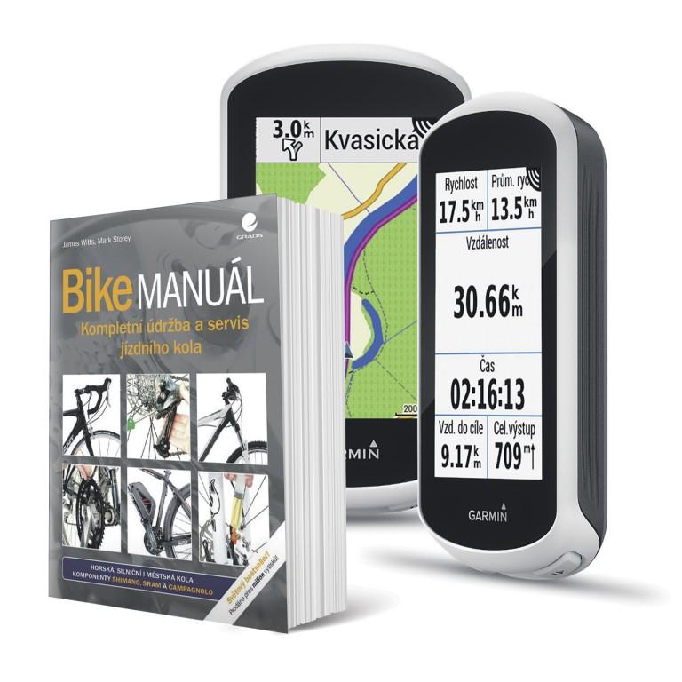 GPS Garmin Edge Explore a Bike manuál v hodnotě 6 469 Kč