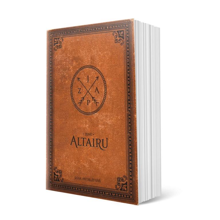 Kniha Země Altairu v hodnotě 980 Kč