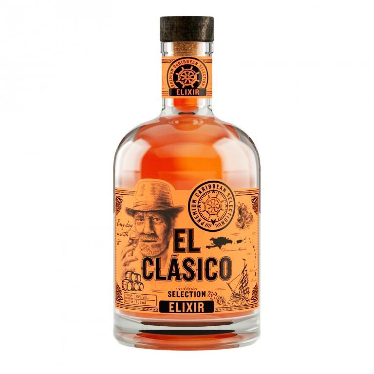Prémiový rum El Clásico Elixír
