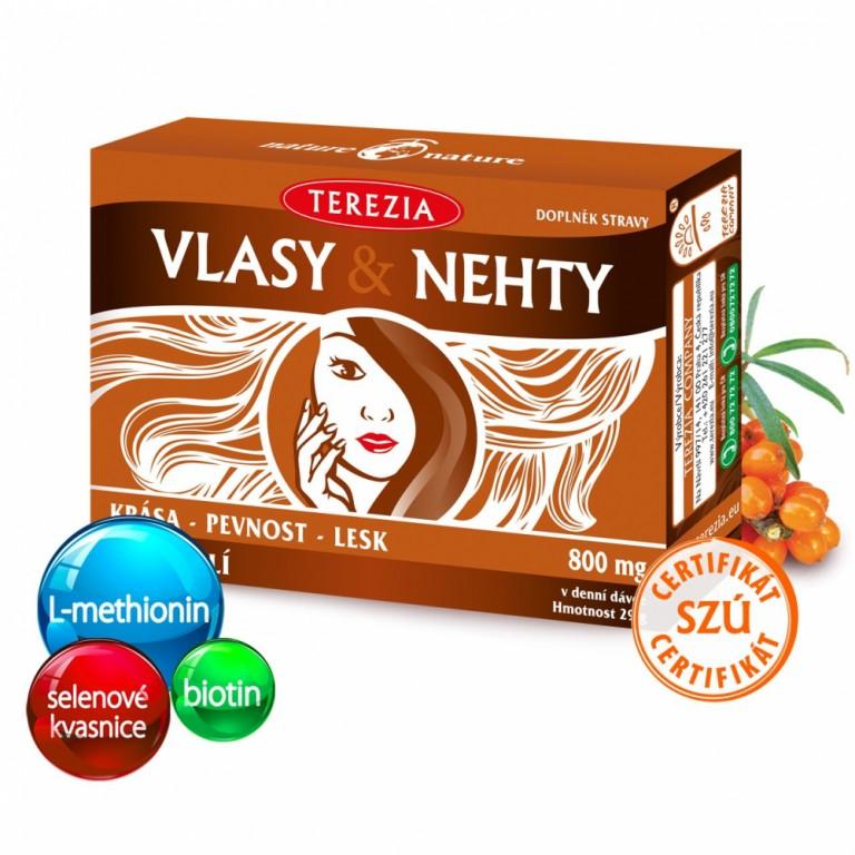doplněk stravy - VLASY & NEHTY v hodnotě 290 Kč