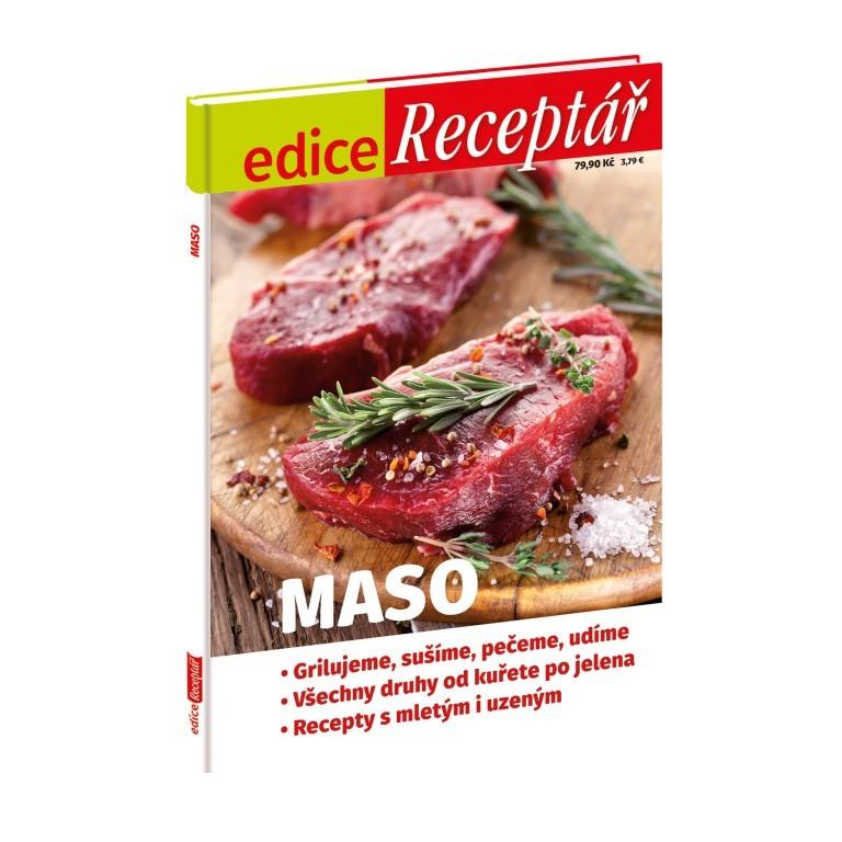 Edice Receptář Maso v hodnotě 79 Kč