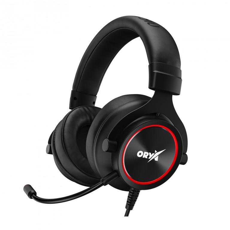Herní sluchátka Niceboy Oryx X500 Shadow