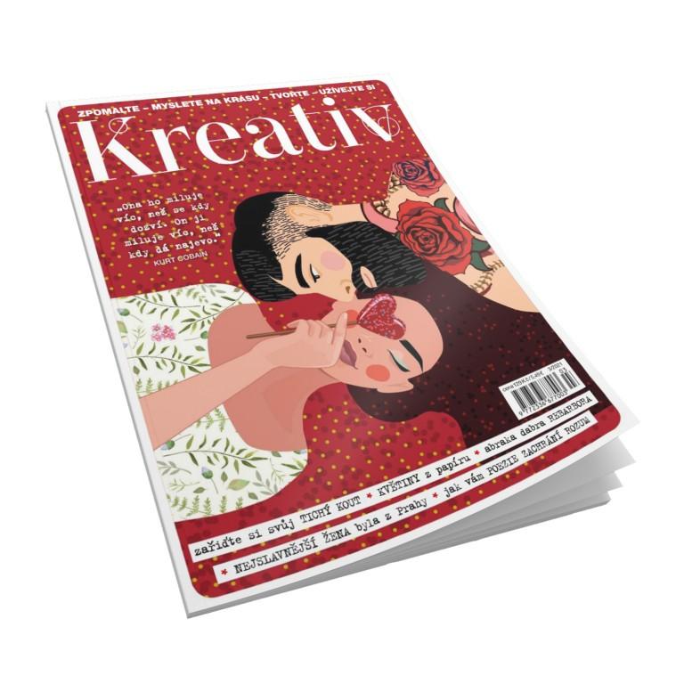 Předplatné časopisu Kreativ 599 Kč