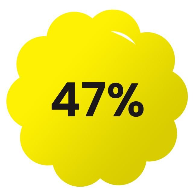 Letní sleva 47 %