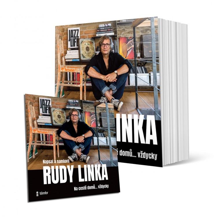 Tištěná kniha a audiokniha Rudy Linka Na cestě domů ... vždycky 898 Kč