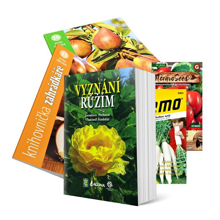 Kniha Vyznání růžím v hodnotě 199 Kč pro darovací předplatné