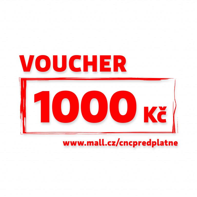 Poukaz Mall v hodnotě 1 000 Kč