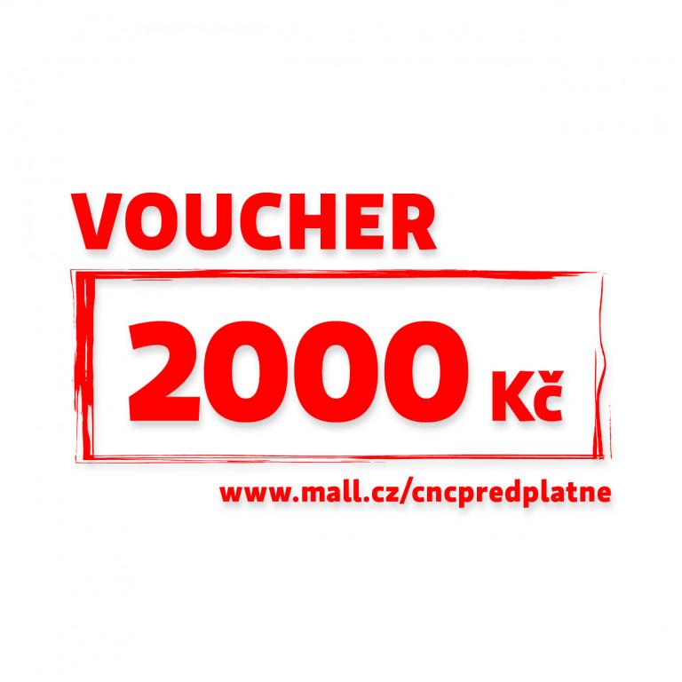 Poukaz Mall v hodnotě 2 000 Kč