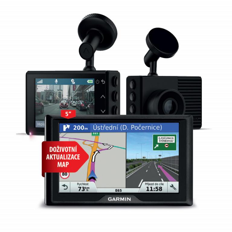 Garmin Drive 51S Lifetime Europe 45 a Garmin Dash Cam 46 v hodnotě 6 780 Kč