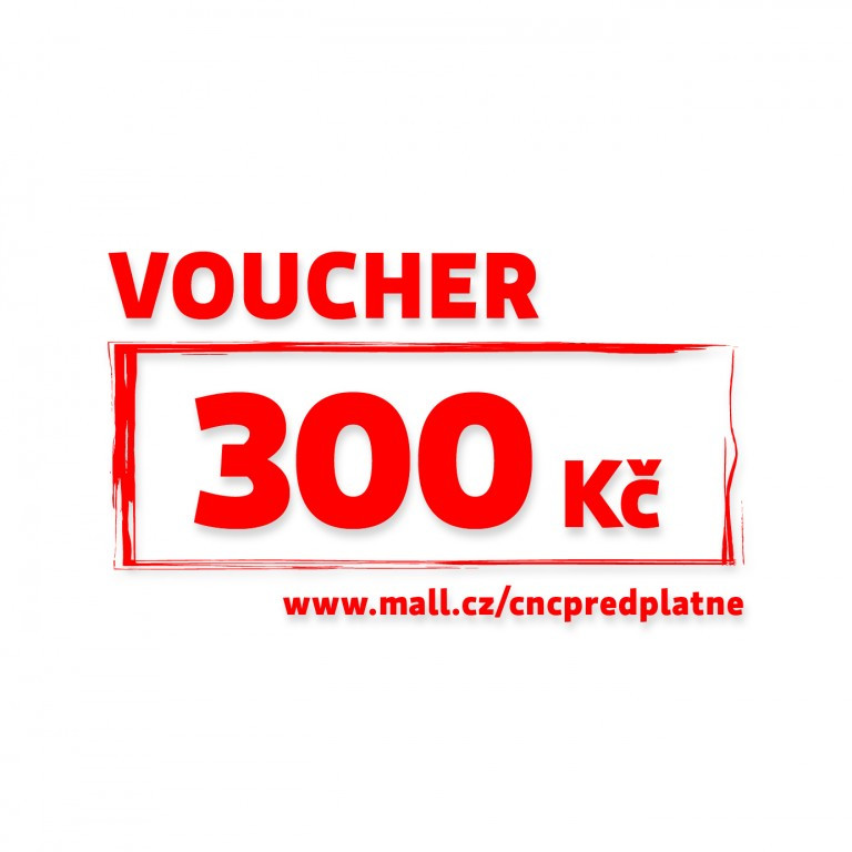 Voucher Mall v hodnotě 300 Kč