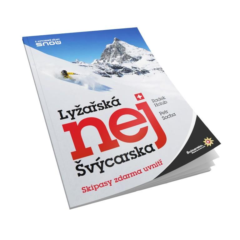 Kniha Lyžařská nej Švýcarska za 199 Kč