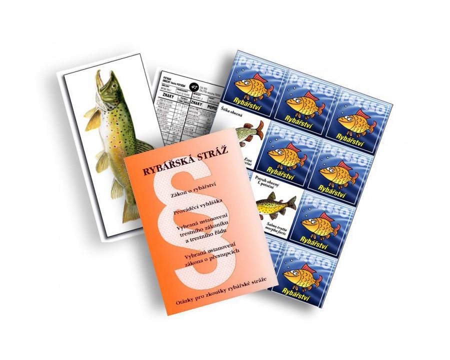 Veselé pexeso, rybí karty a publikace