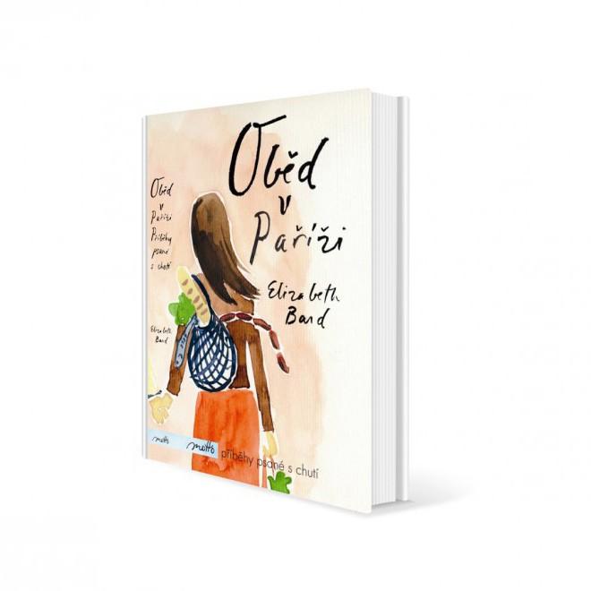 Kniha Oběd v Paříži v hodnotě 100 Kč