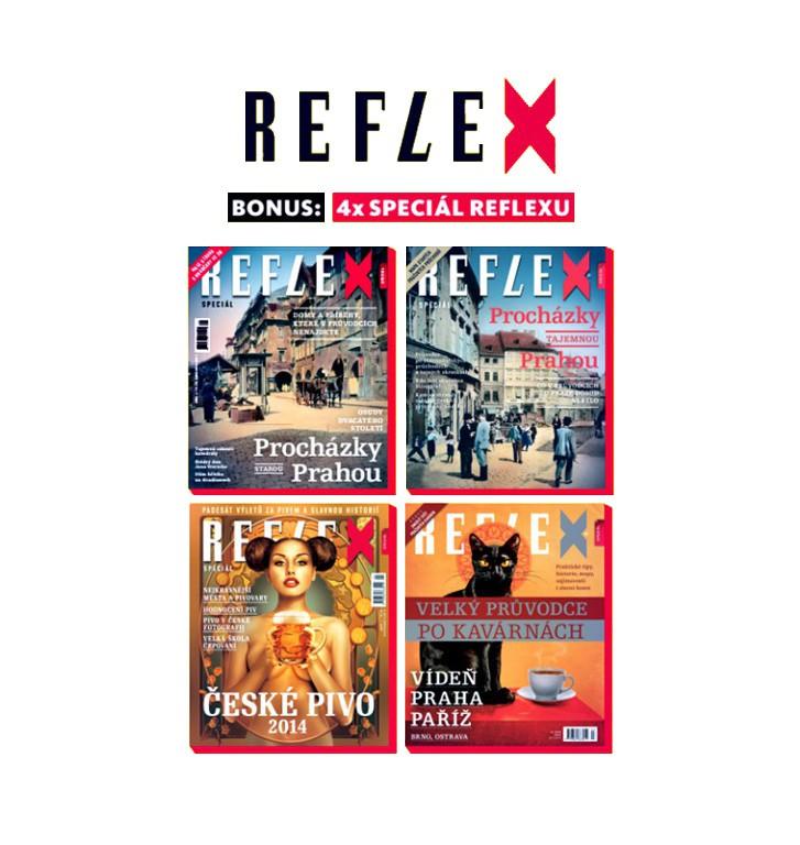 Speciální čísla Reflexu (4 ks)