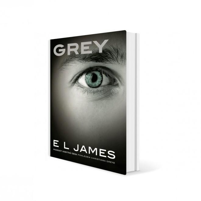 Kniha Grey od E. L. James v hodnotě 368 Kč
