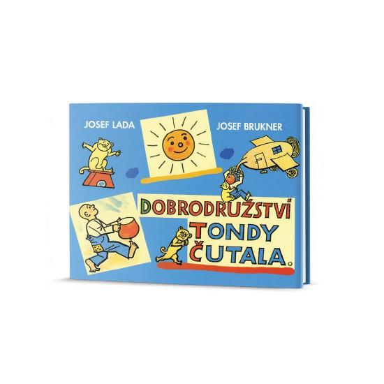 Kniha Dobrodružství Tondy Čutala v hodnotě 179 Kč