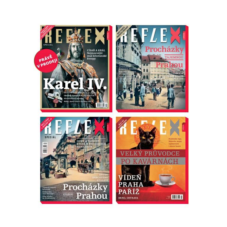 Čtyři speciály Reflexu včetně Karel IV.