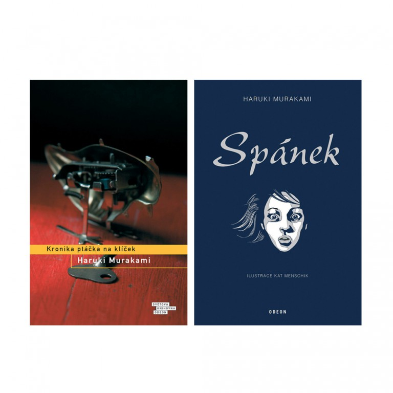 Dvě knihy od Haruki Murakamiho