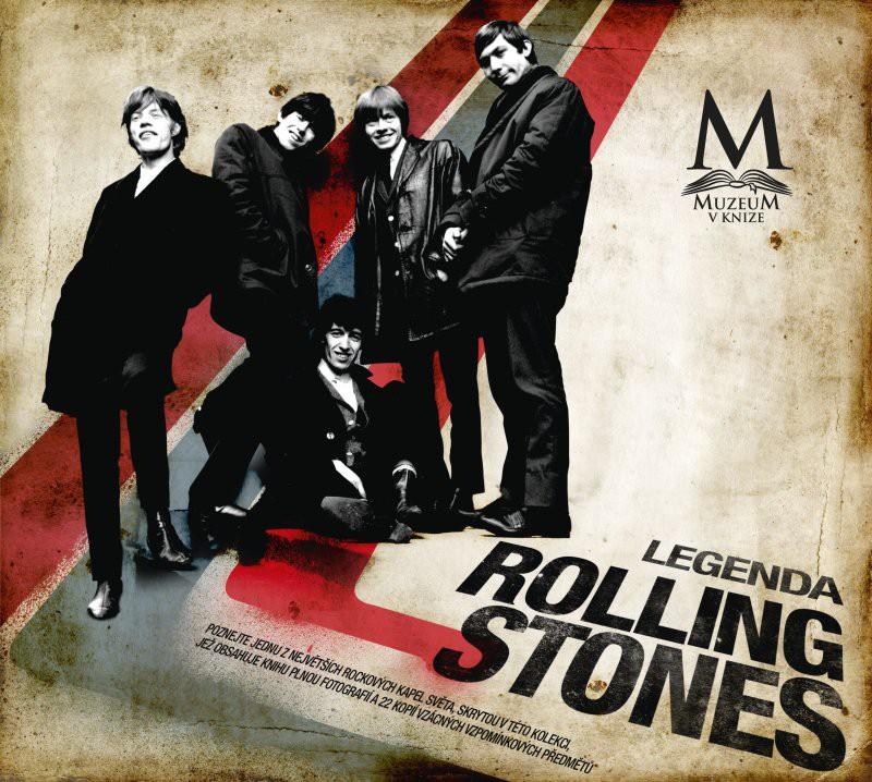 Legenda Rolling Stones v hodnotě 990 Kč