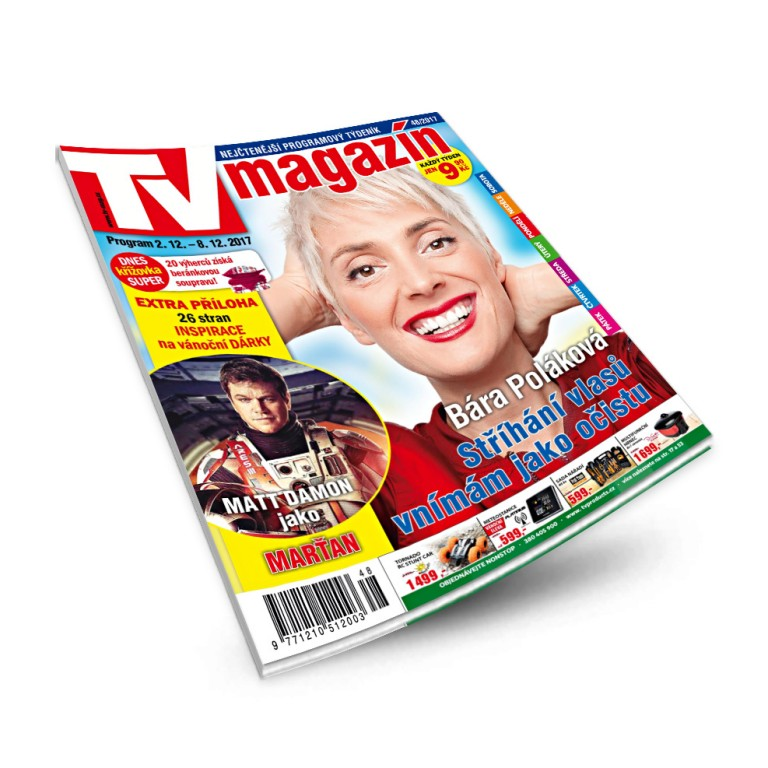 Uvnitř časopis TV magazín zdarma