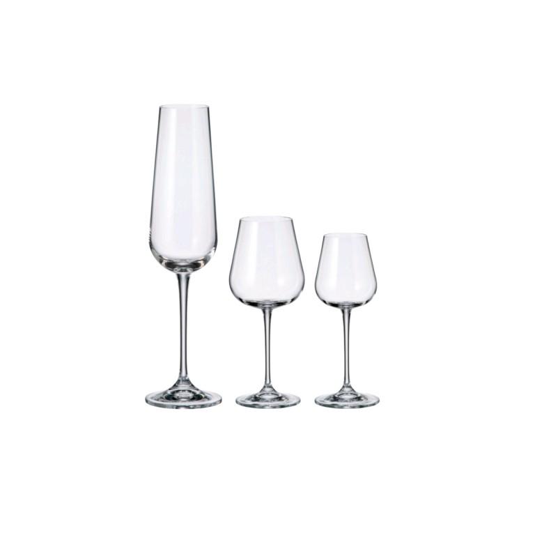 3 sady sklenic (18 ks) v hodnotě 1990 Kč