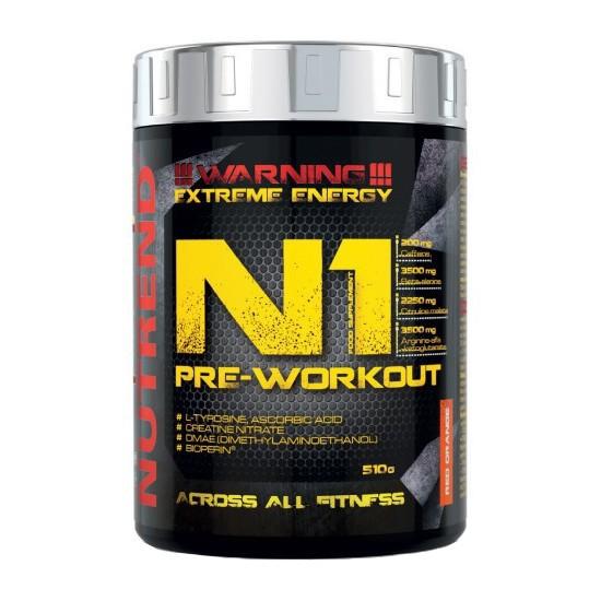 N1 PRE-WORKOUT BY NUTREND v hodnotě 750 Kč