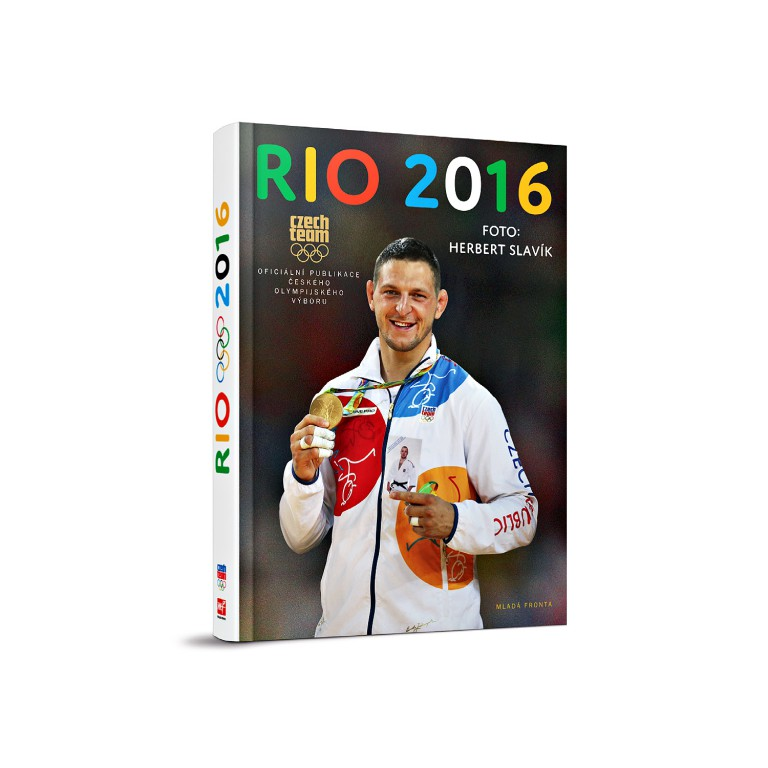 Kniha Rio 2016 v hodnotě 499 Kč