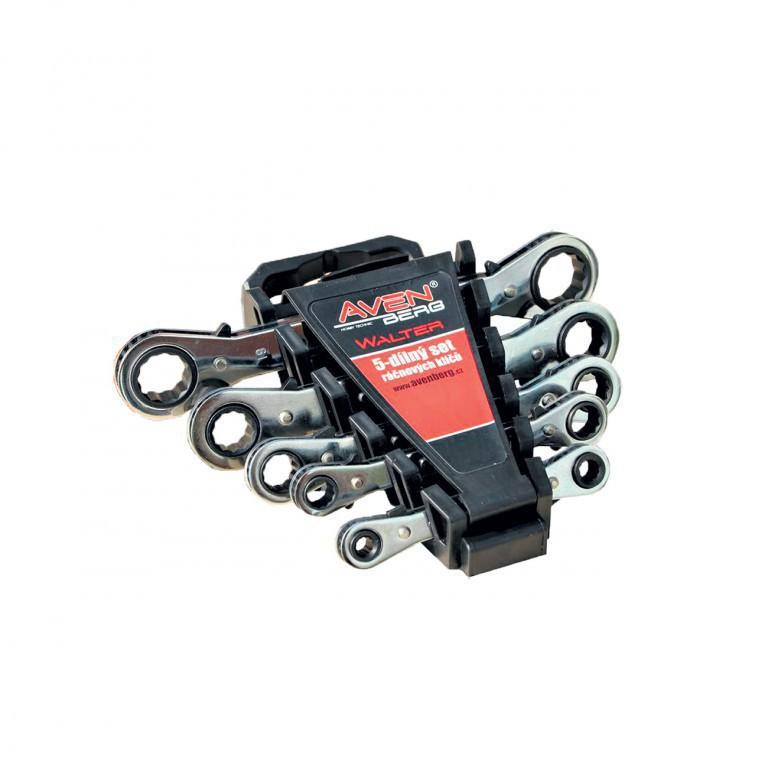 Praktický set ráčnových klíčů Avenberg