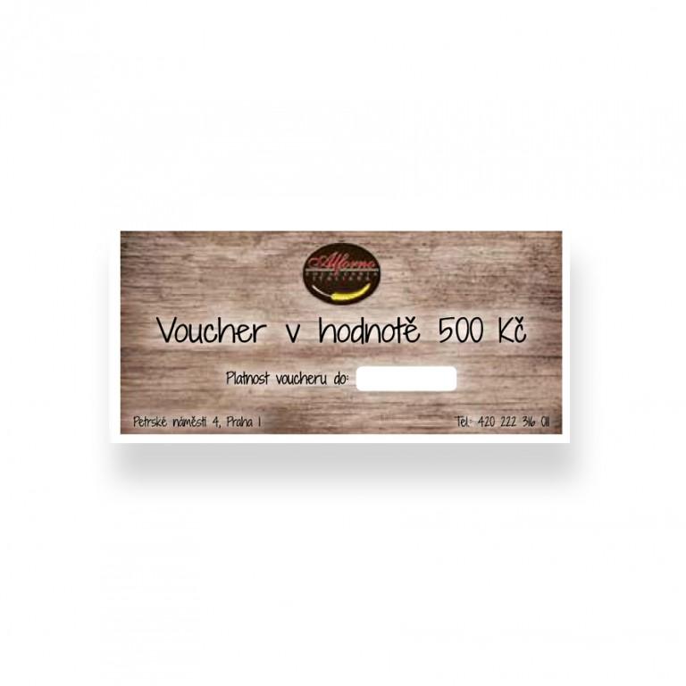 Voucher do italské restaurace Aldente Trattoria v hodnotě 500 Kč