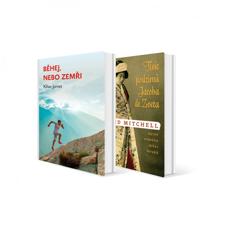 Dvě knihy v hodnotě 511 Kč