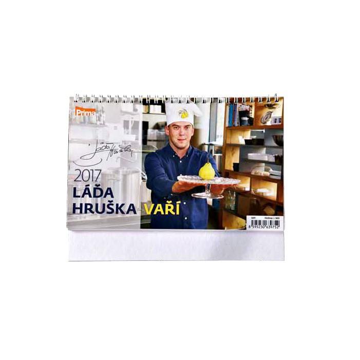 Kalendář Láďa Hruška vaří 2017