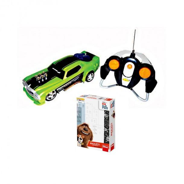 Auto a hra Mazlíčci v hodnotě 698 Kč
