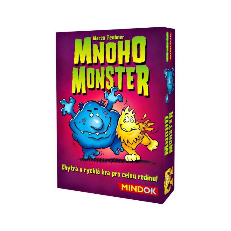 Mnoho Monster v hodnotě 499 Kč