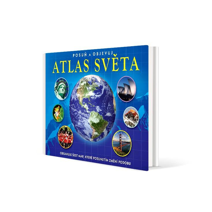 Atlas světa v hodnotě 399 Kč