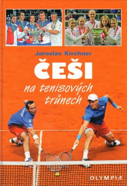 Kniha Češi na tenisových trůnech v hodnotě 349 Kč
