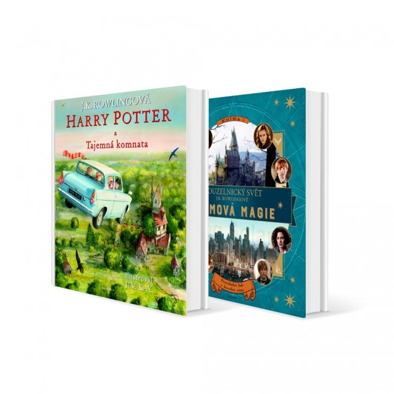 Dvě knihy Harry Potter