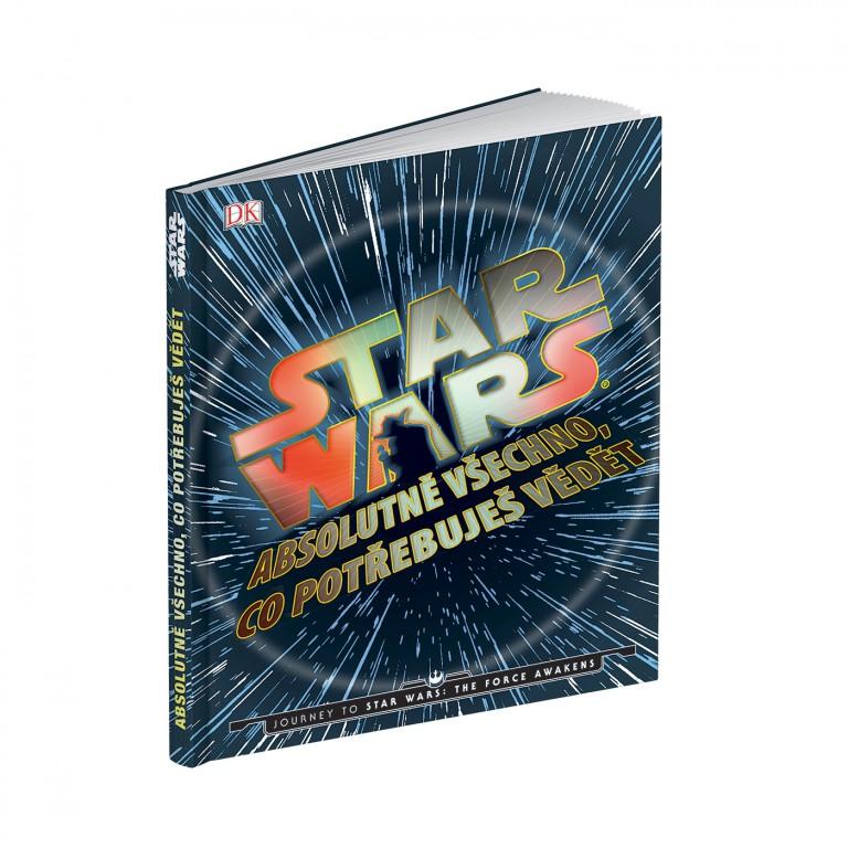 Kniha Star Wars v hodnotě 469 Kč
