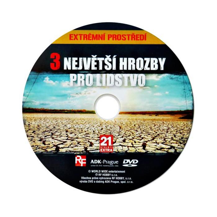 DVD 3 největší hrozby pro lidstvo