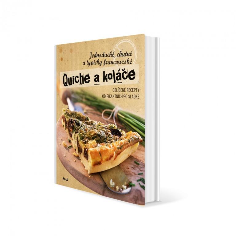 Kuchařka Quiche a koláče