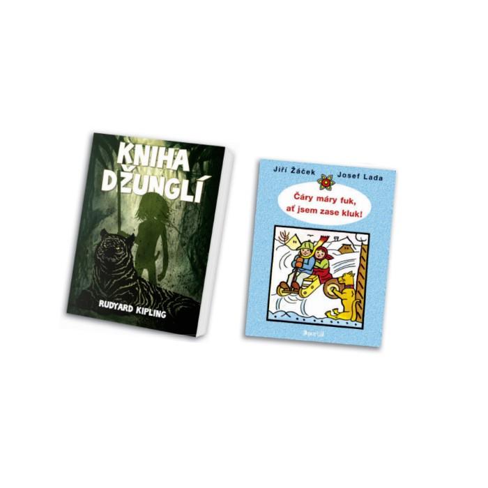 Kniha džunglí a Čáry máry fuk