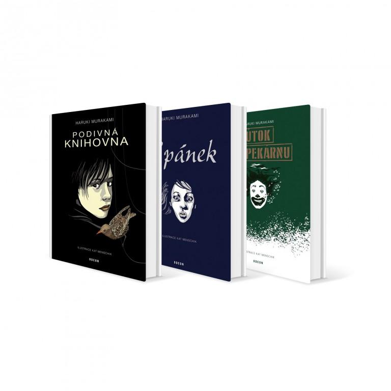 Sada knih Haruki Murakamiho