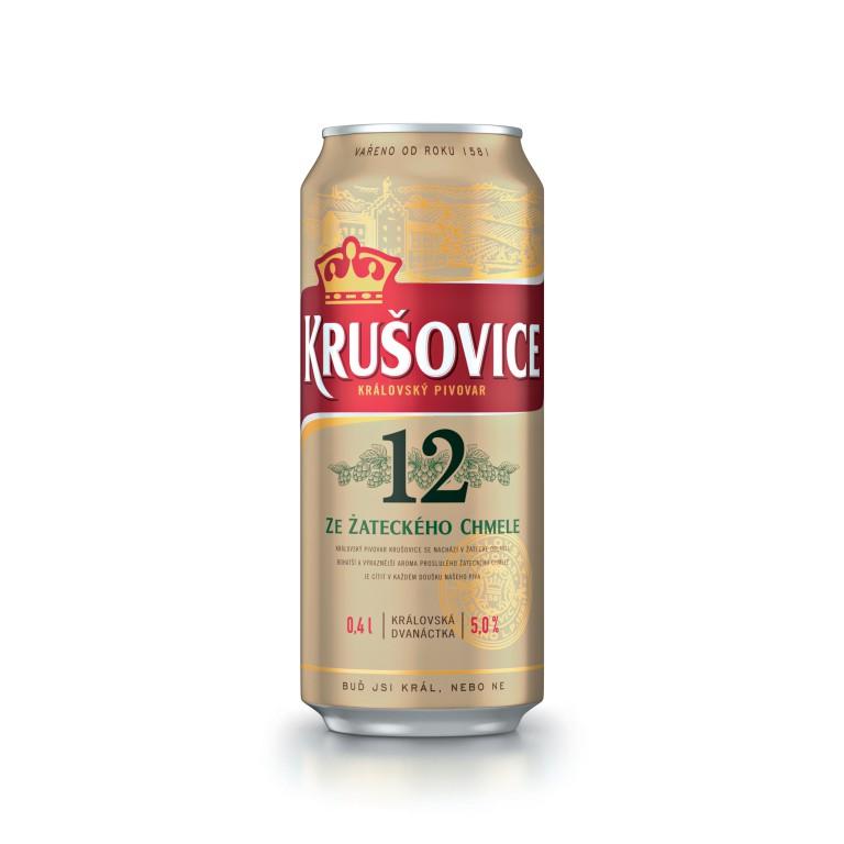 Krušovické pivo (24 ks) v hodnotě 382 Kč