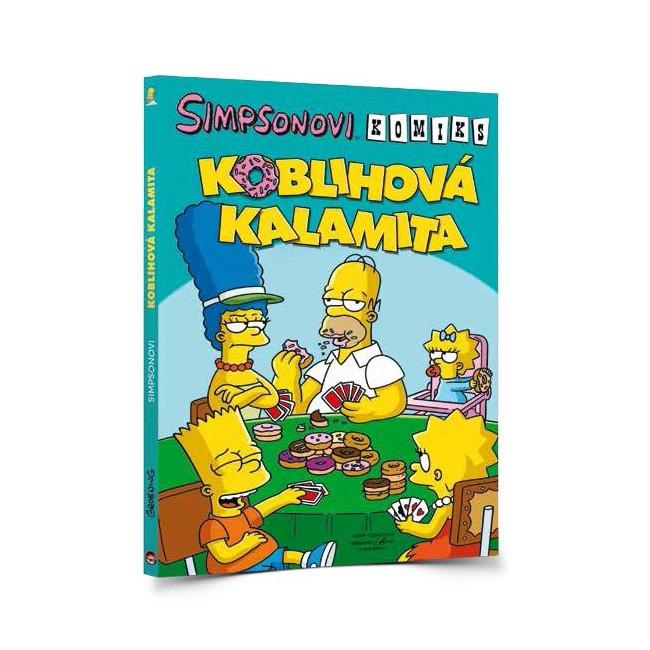 Komiks Simpsonovi v hodnotě 299 Kč