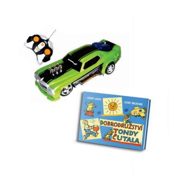 Auto Roadster a kniha v hodnotě 828 Kč
