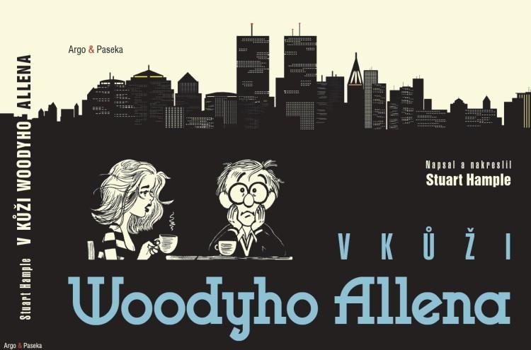 kniha V kůži Woodyho Allena v hodnotě 448 Kč